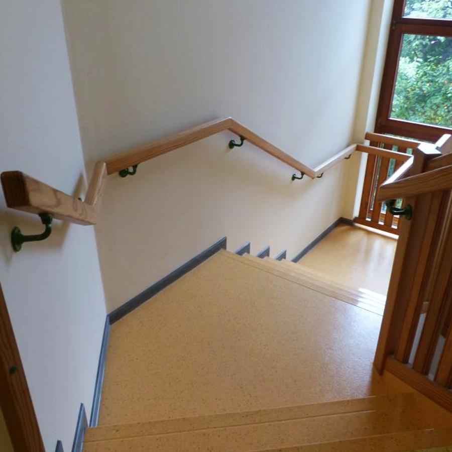 Linoleum Treppe